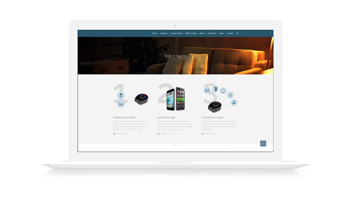 housemate assisted technology web design