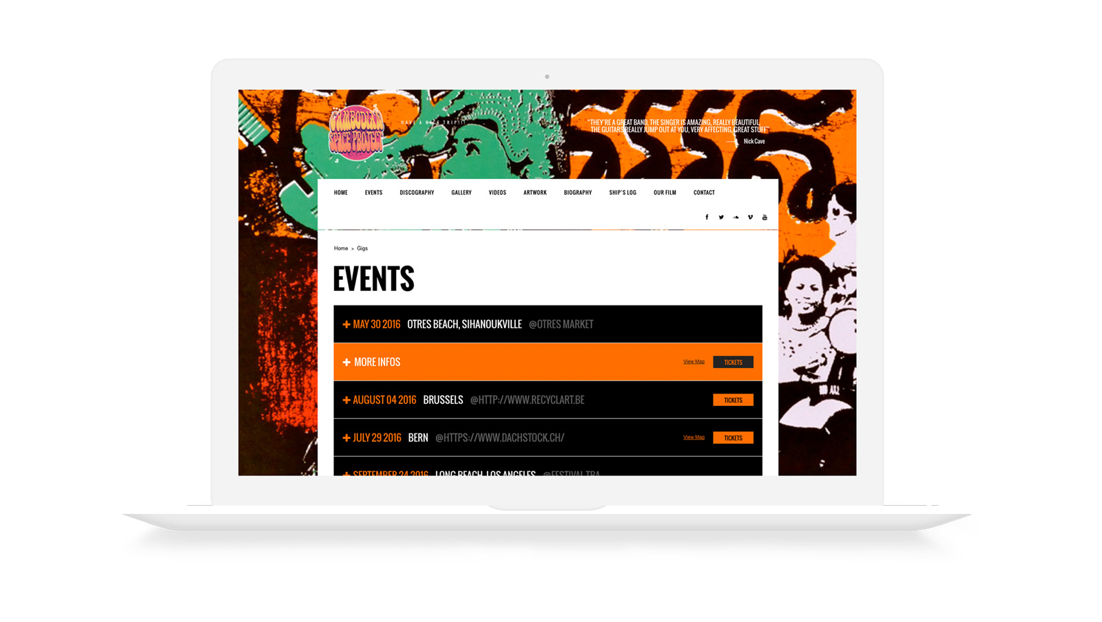cambodian space project web design
