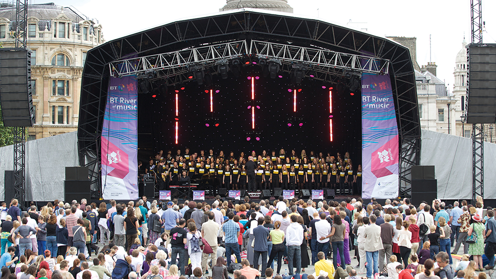 bt river of music london olympics